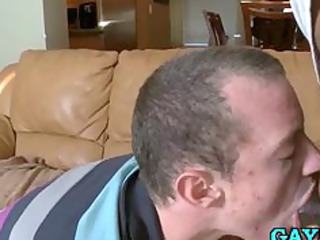 hot gay stud loves swallowing