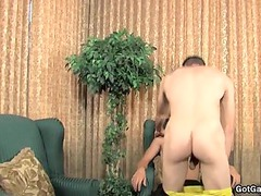 danny brooks acquires bushy anal pierced part1