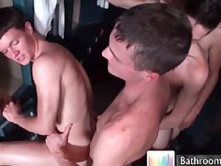 tyler charming into large gay group sex part1