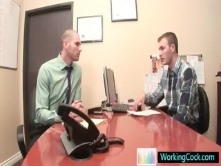 cole taking ceduced by his boss by workingcock