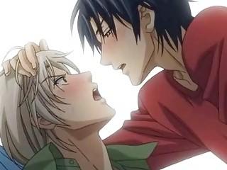 anime gays having a super adore affair