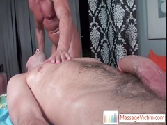 extreme deeptrouth during doing massage by