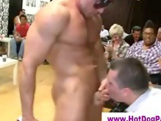 regular men facialized at gay orgy