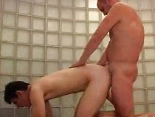 bald gay hunk gangbangs bleached slim male