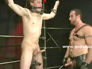 inexperienced gay twink finds a pure master