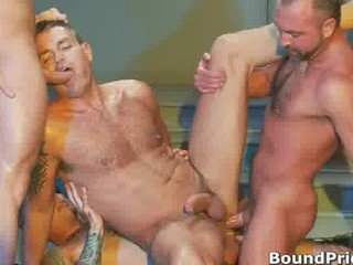 extreme gay bdsm group sex video part4