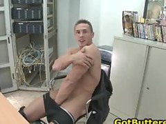 beautiful muscled gay boy licking penis part3