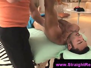 gay therapist acquires off massaging a straight
