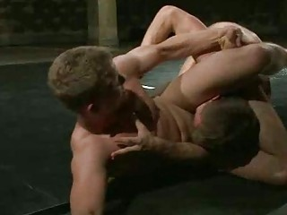 super  looking gay studs wrestle for domination
