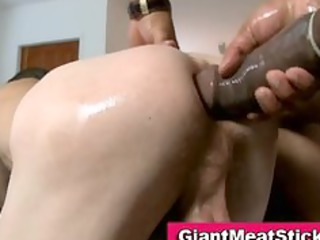 gay interracial huge libido drill