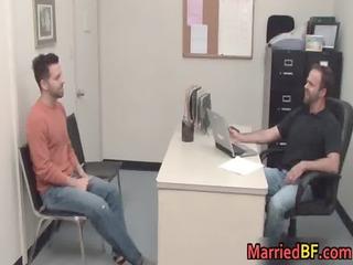 tattooed straight hunk gets butt pierced 1 gay