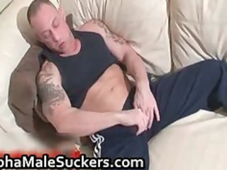 the most amazing gay piercing and licking part4